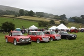 Reeth show 2009 -Vintage Cars Parade