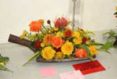 reeth show 2009 - Floral art