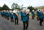 reeth Show 2010 -Reeth brass band